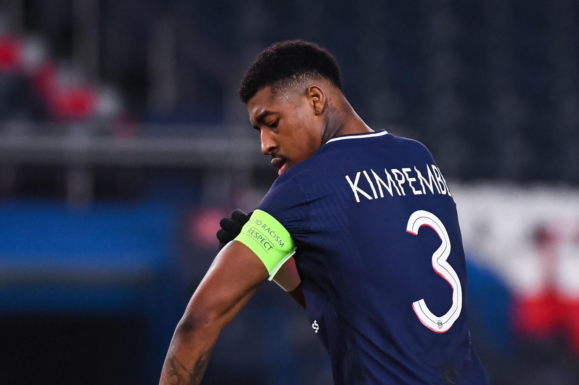 """PSG/Bayern - Kimpembe annonce l'objectif et """"j'ai le sang rouge et bleu"""""""