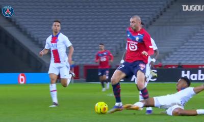 Retrouvez l'impressionnant tacle de Kimpembe contre Lille en vidéo