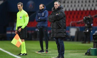 """PSG/Strasbourg - Laurey regrette """"en dix minutes, on plombe tout"""""""