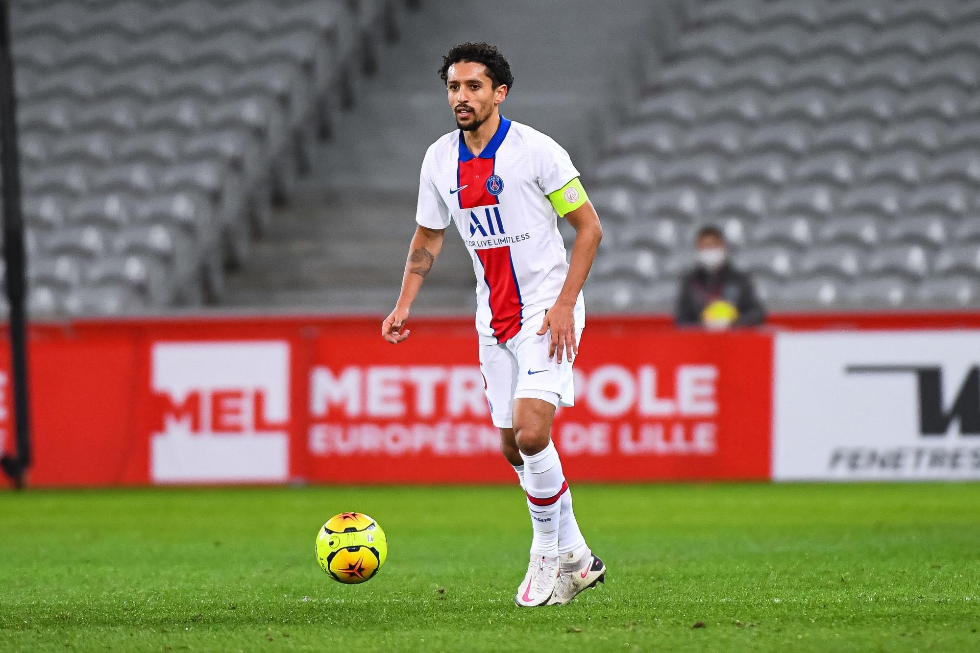 """Lille/PSG - Marquinhos souligne que Paris """"méritait"""" la victoire"""
