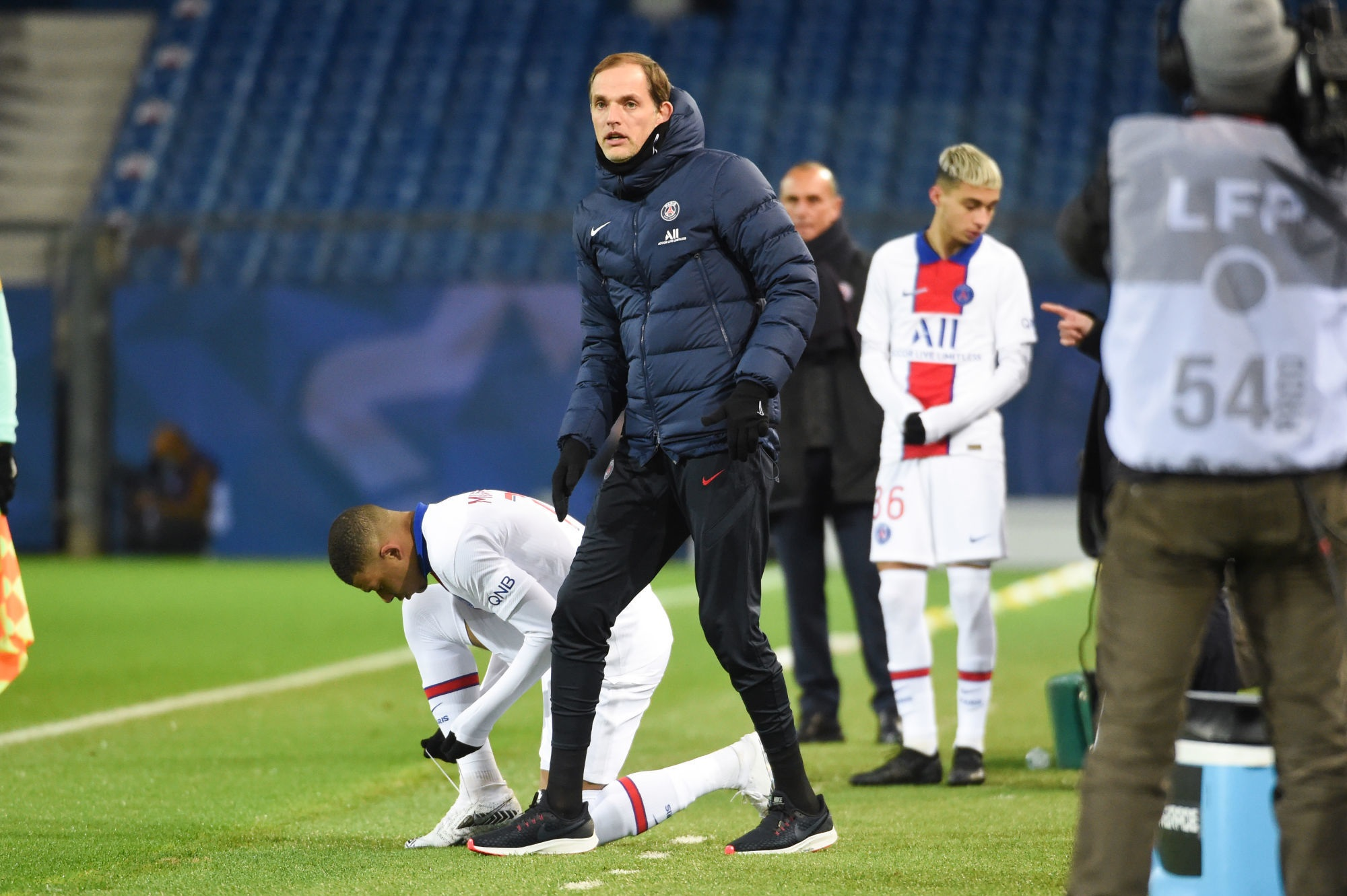 Montpellier/PSG - Tuchel évoque la rotation, la fatigue qui doit être habituelle et Mbappé