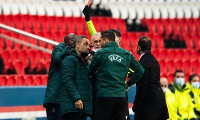 PSG/Istanbul - Le carton rouge de Webo est pour le moment suspendu