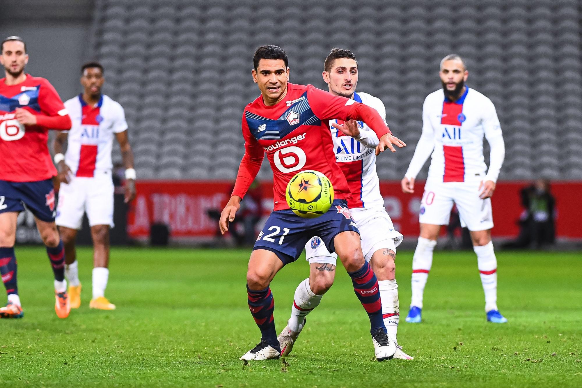 """Lille/PSG - André regrette """"Il y avait moyen de les mettre beaucoup plus en difficulté"""""""