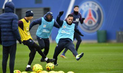 Les images du PSG ce lundi: Retour sur Lille/PSG et séance de décrasage.