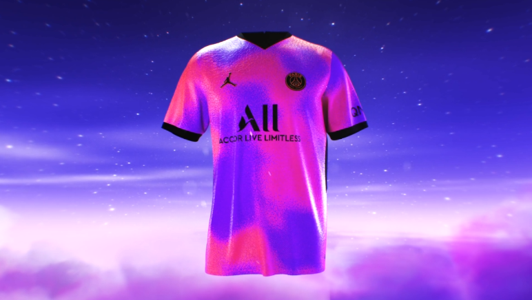 Officiel - Le PSG lance son 4e maillot de la saison 2020-2021 et une nouvelle collection