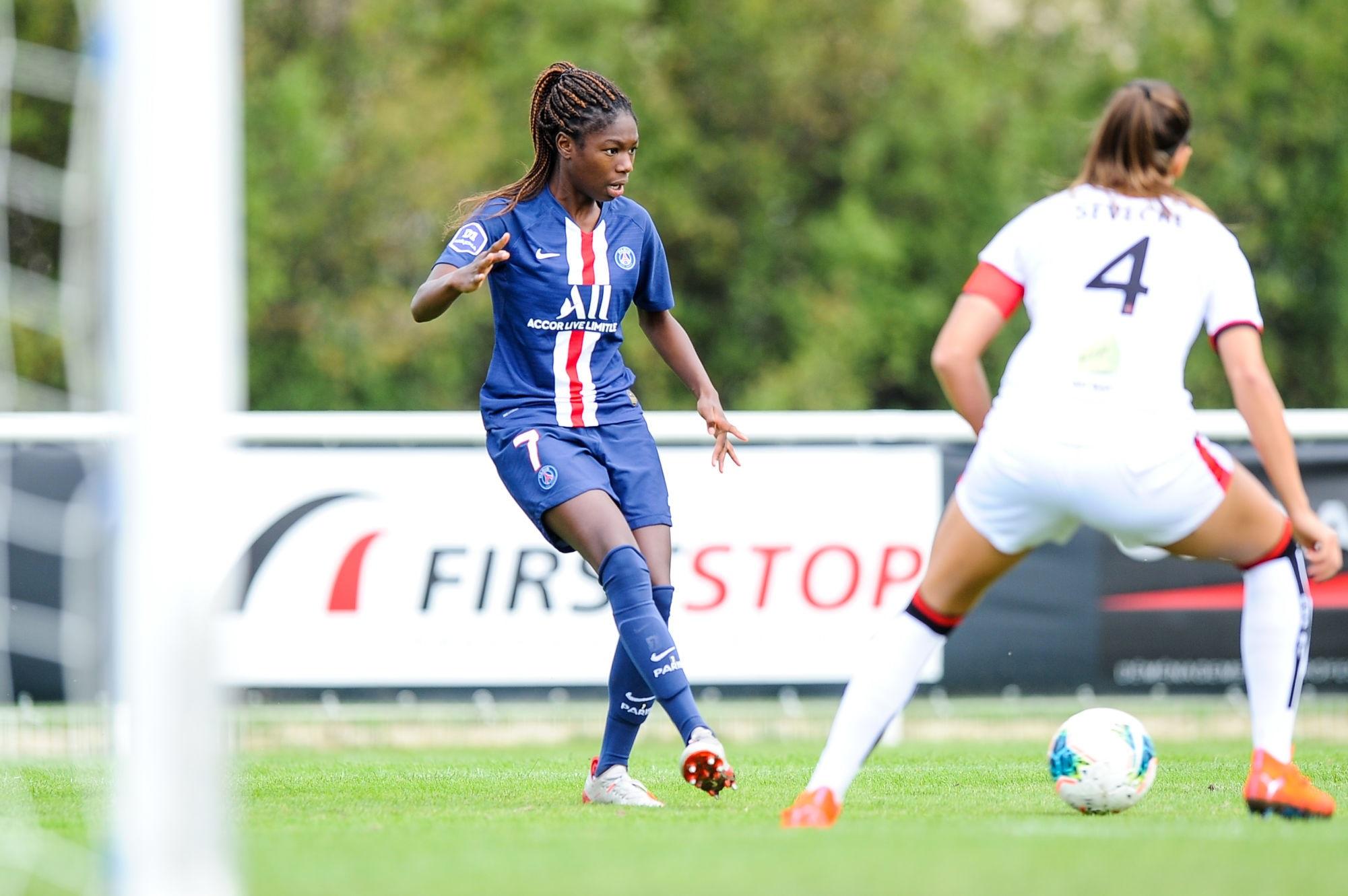 """Aminata Diallo évoque sa prolongation et son retour au PSG """"je suis très heureuse"""""""
