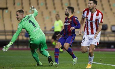 LDC - Le Barça s'est incliné contre l'Athletic Bilbao en Supercoupe d'Espagne