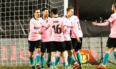 LDC - Le Barça s'est difficilement imposé face au Rayo Vallecano en Coupe du Roi