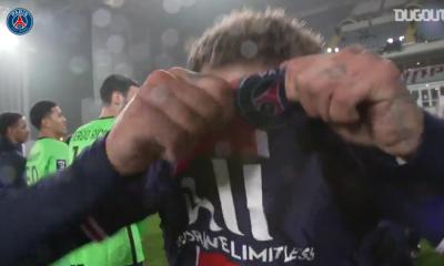 Revivez la victoire du PSG contre l'OM au plus près des joueurs parisiens
