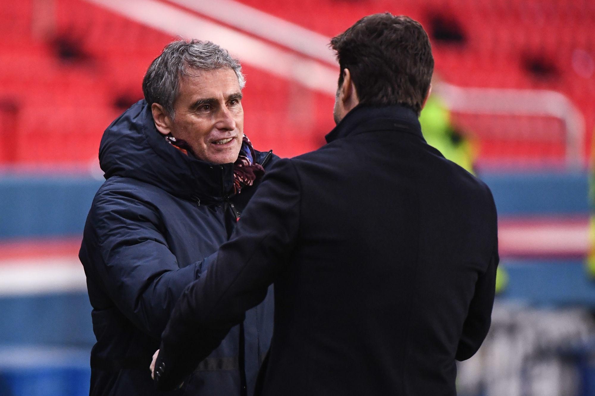 """PSG/Brest - Dall'Oglio affirme que """"le score est lourd"""" et appelle à la patience pour Pochettino"""