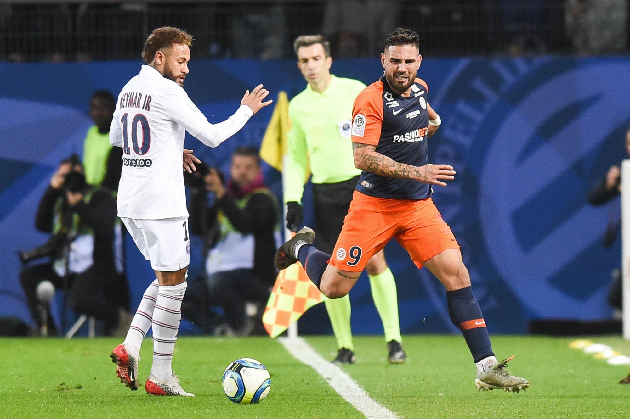 """PSG/Montpellier - Delort assure que """"tout va bien"""" avec Neymar et évoque """"un match bonus"""""""