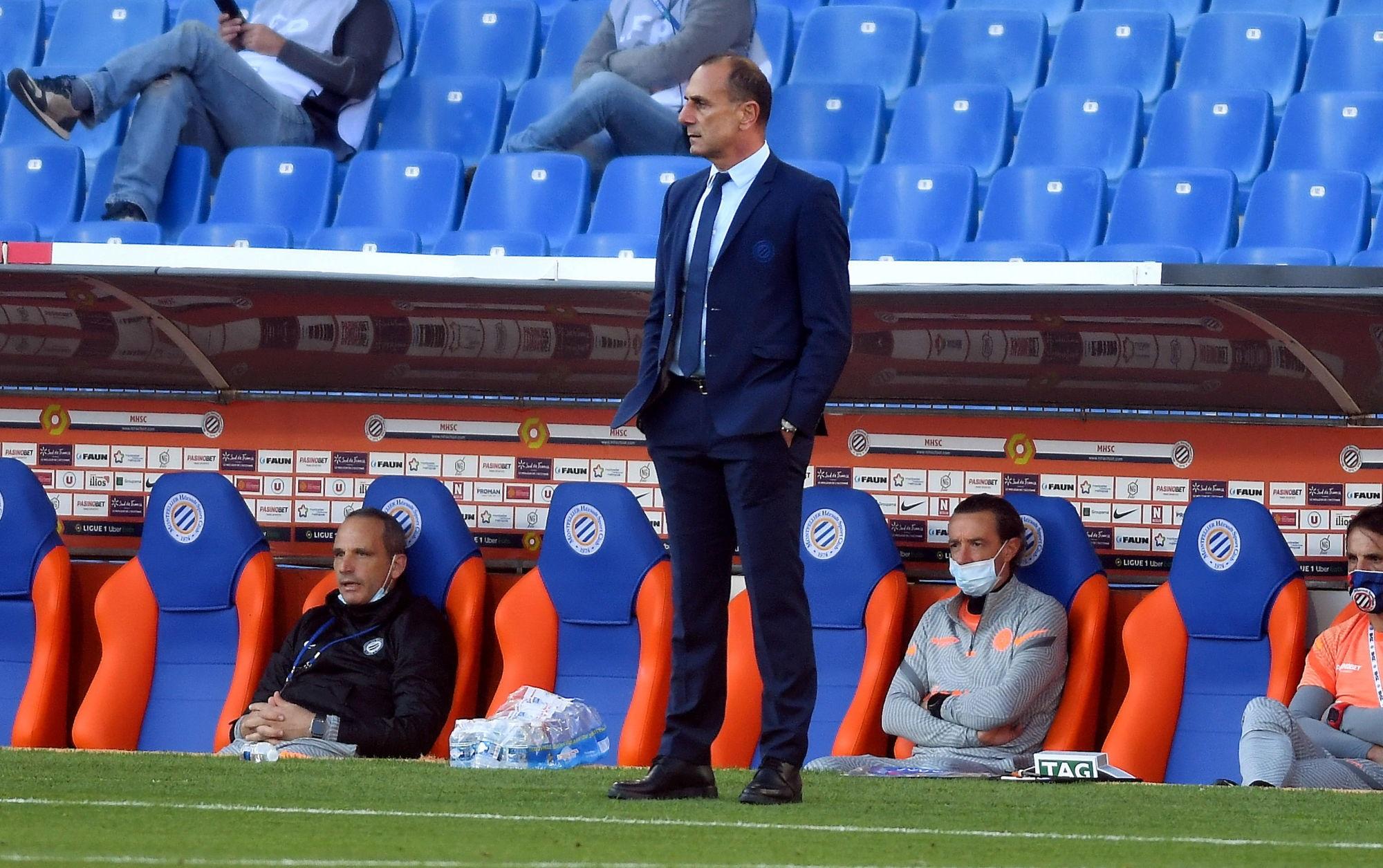 "Der Zakarian veut ""bien jouer Strasbourg"" pour ""bien préparer Montpellier/PSG"