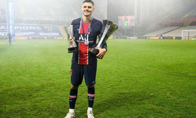 """PSG/OM - Icardi savoure le premier trophée de la saison et veut """"continuer"""""""