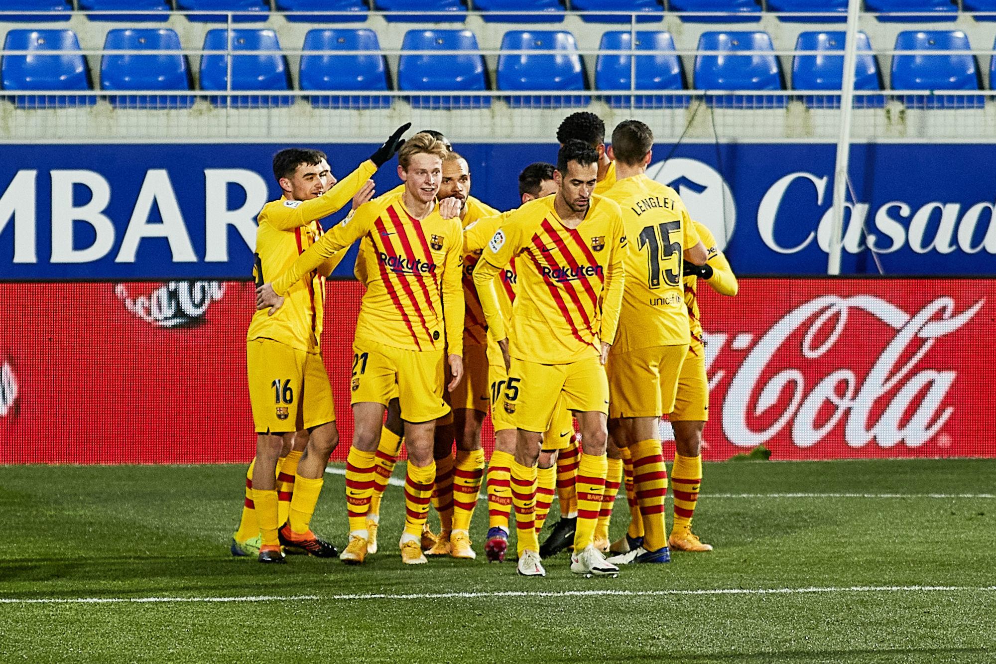LDC - Le Barça s'impose 1-0 à Huesca avec un relativement bon contenu