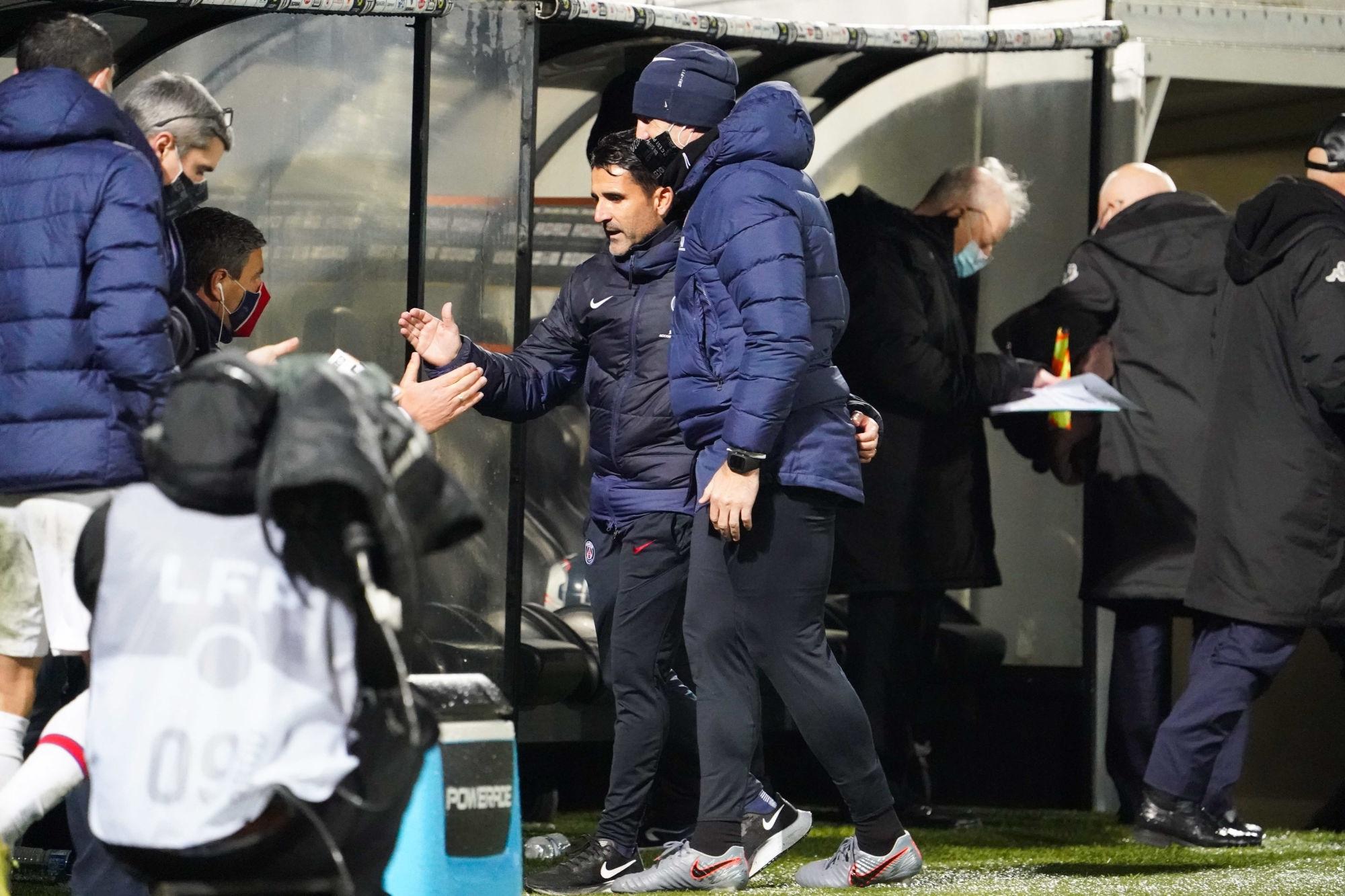 PSG/Montpellier - Jesus Perez évoque le travail cette semaine et la communication avec Pochettino