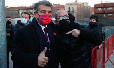 """Laporta attaque encore le PSG en soulignant un """"manque d'expérience"""""""