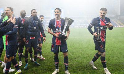 Marquinhos a atteint les 300 matchs au PSG lors du Trophée des Champions