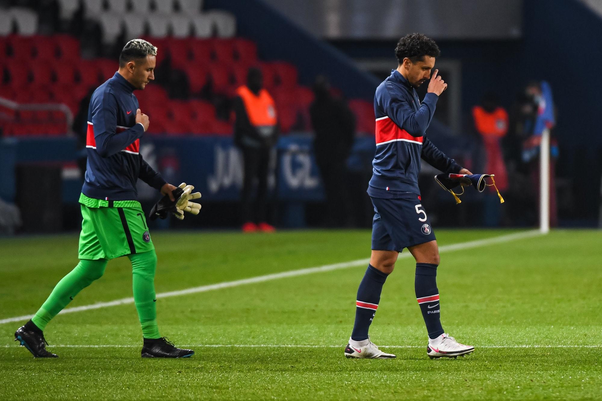 Lorient/PSG - Navas, Marquinhos et Herrera incertains, indique Le Parisien