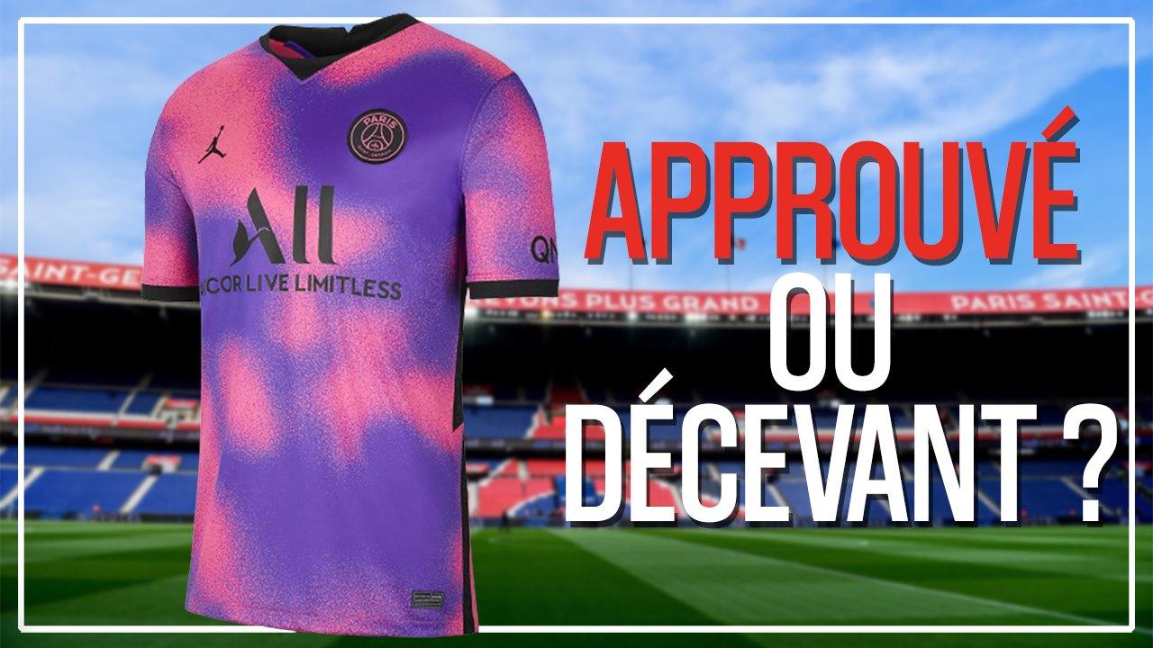 Podcast PSG - Le 4e maillot 2020-2021 acceptable, gênant...? Notre avis