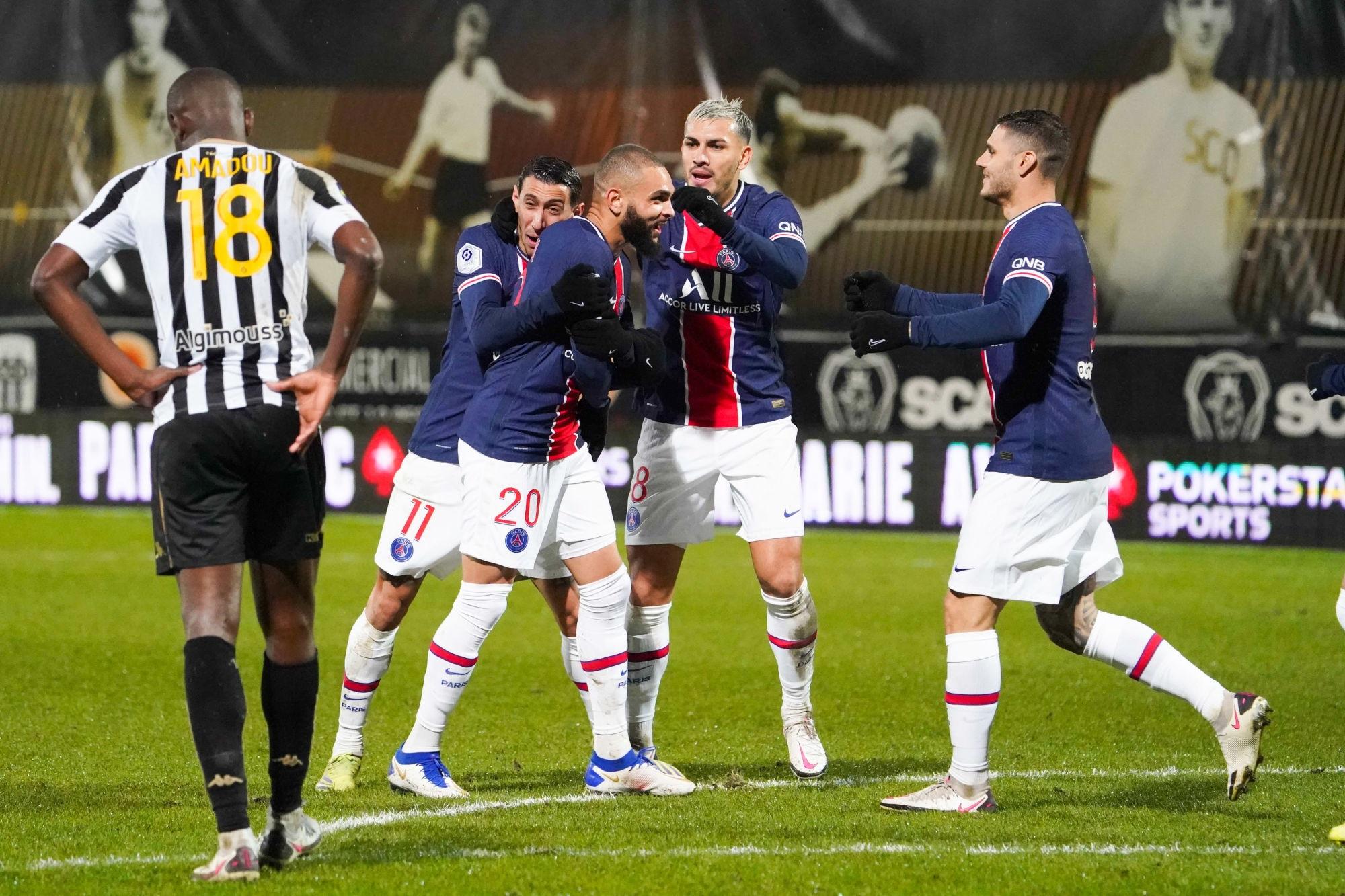 """Angers/PSG - Paredes """"Nous sommes heureux, parce qu'il fallait gagner"""""""