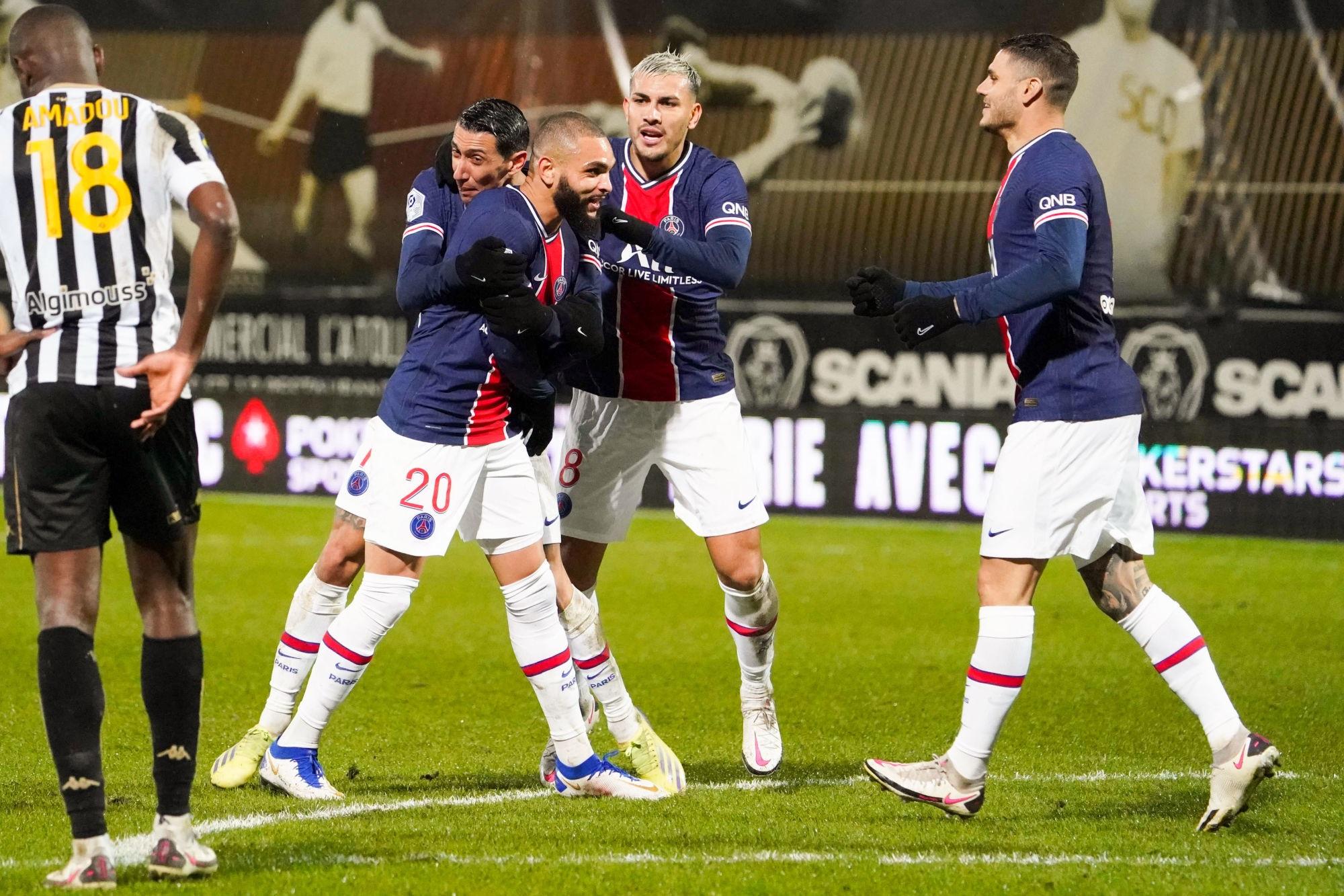 """Angers/PSG - Paredes souligne """"Quand on n'arrive pas à bien jouer, c'est important de gagner"""""""