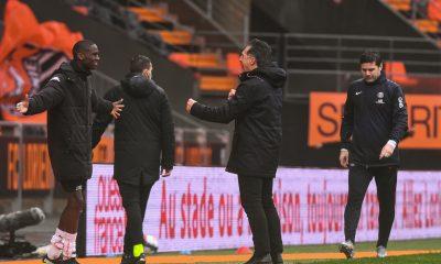 """Lorient/PSG - Pelissier a """"beaucoup de fierté"""" et évoque un """"tournant du match"""""""
