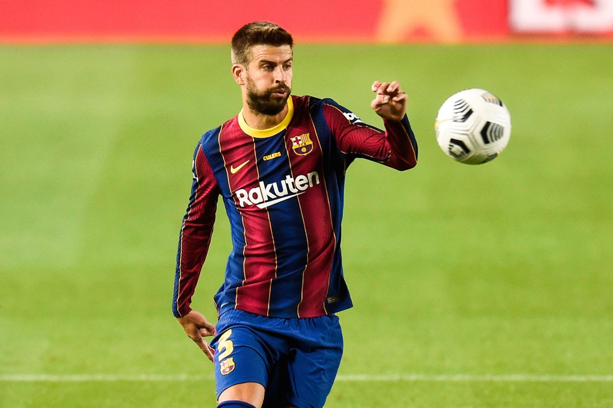LDC - Piqué probablement forfait pour les 8es de finale entre le Barça et le PSG