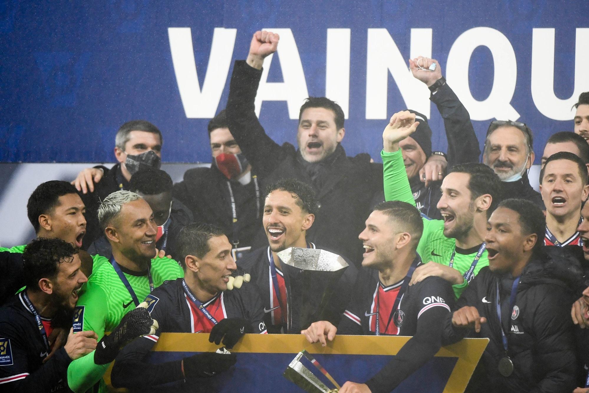 "PSG/OM - Pochettino est ""vraiment fier"" et ""heureux"""