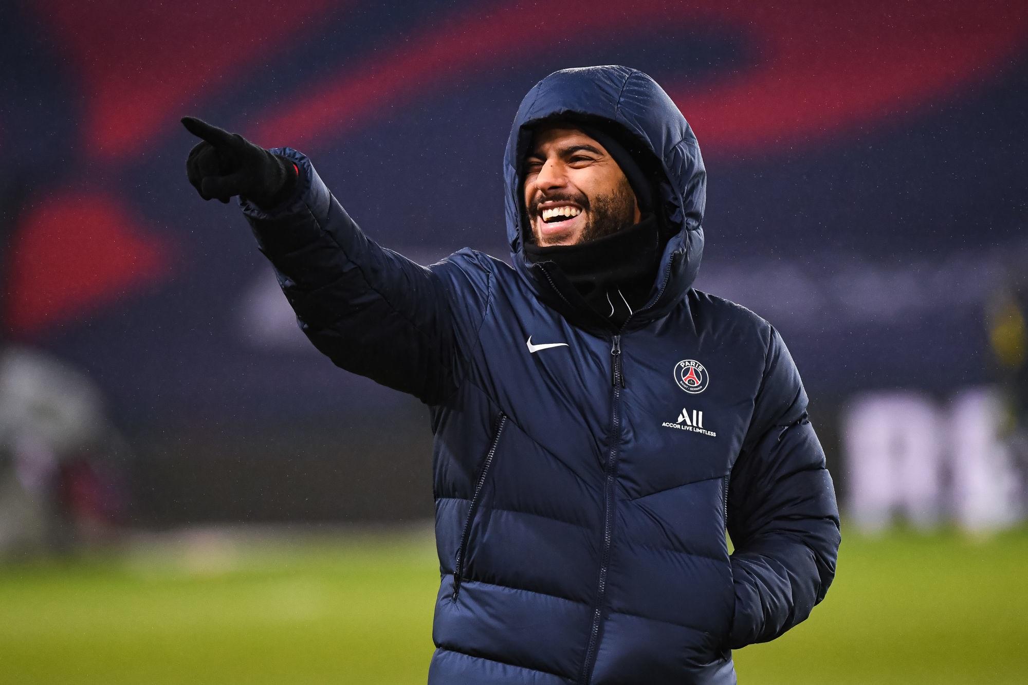 Rafinha élu joueur du PSG du mois de décembre par les supporters