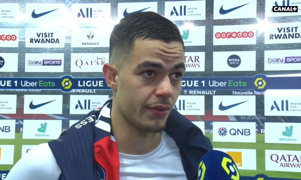 """PSG/Brest - Romain Faivre """"C'est sûr que c'est un score sévère"""""""