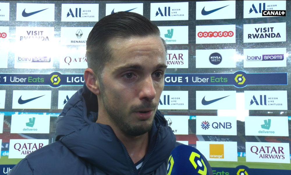 PSG/Brest - Sarabia évoque la victoire, le style Pochettino et le match contre Marseille
