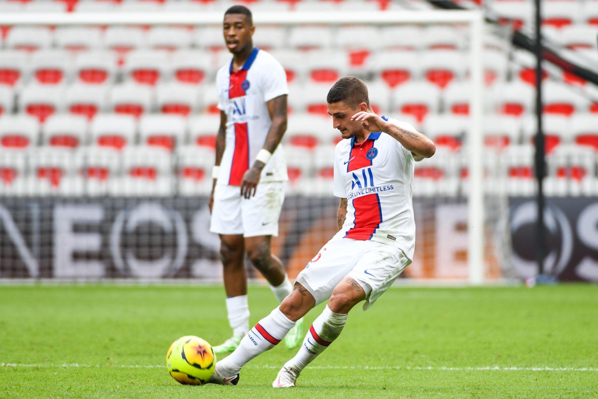 Saint-Etienne/PSG - Le Parisien confirme l'idée d'un Verratti en meneur de jeu