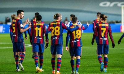 LDC - Le Barça s'est qualifié en finale de Supercoupe d'Espagne face à la Real Sociedad