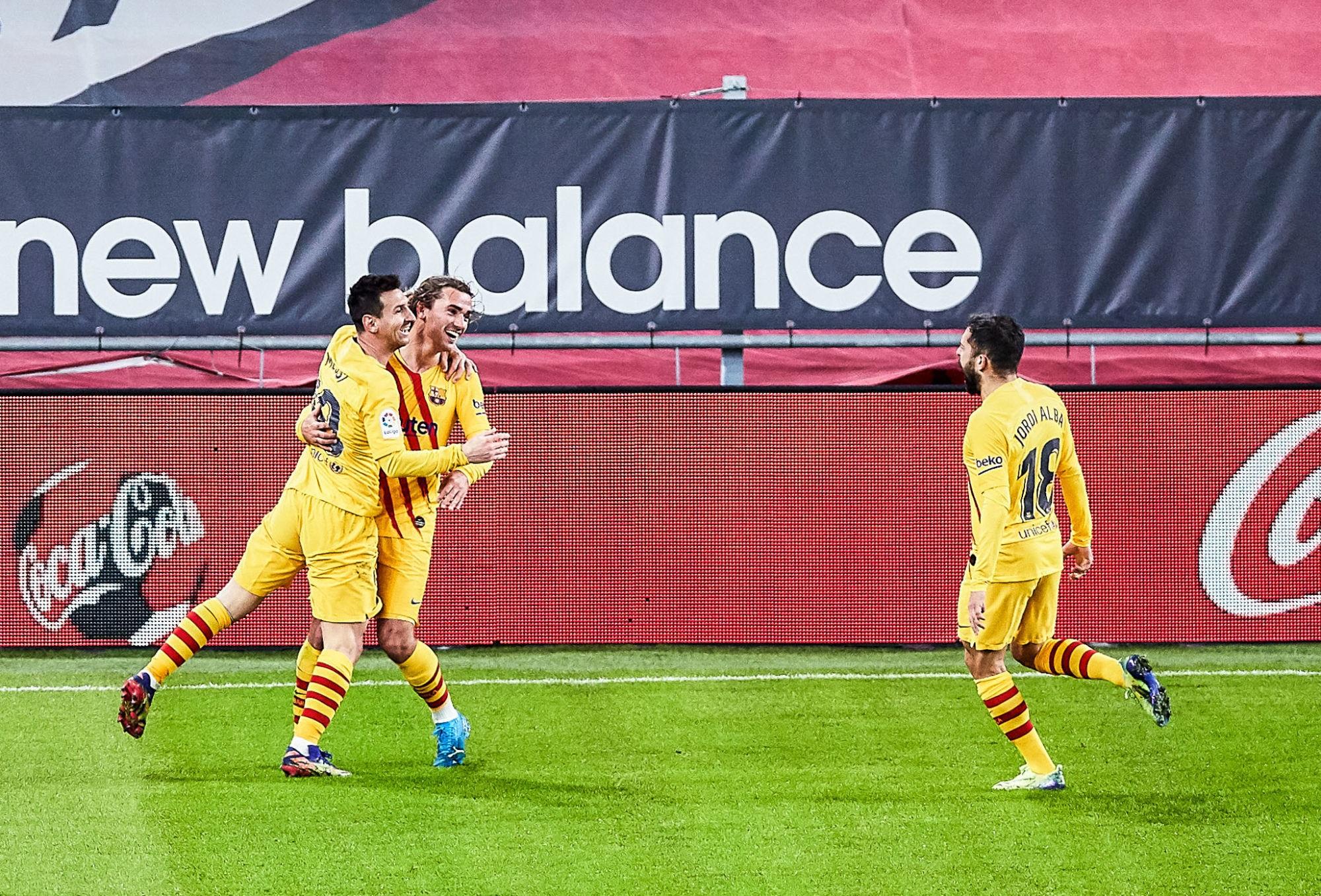LDC - Le Barça confirme avec sa victoire contre l'Athletic Bilbao