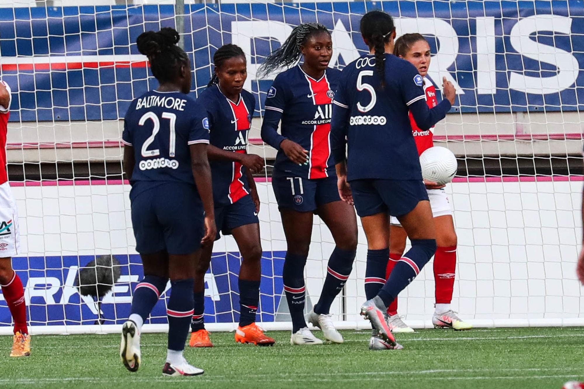 Le PSG s'impose joliment à Guingamp et garde la tête de la D1
