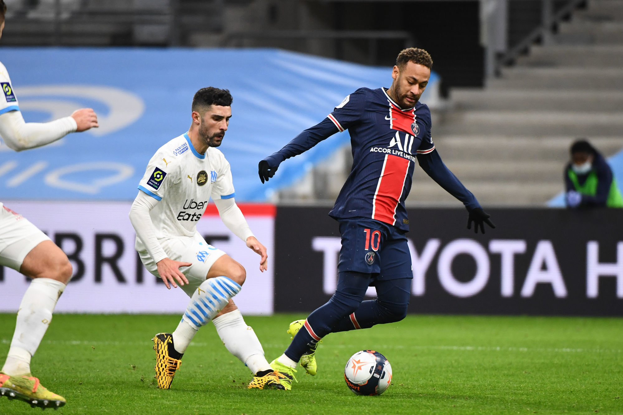 """OM/PSG - Lannoy souligne que les images sont """"claires"""", il n'y avait pas penalty sur Neymar"""