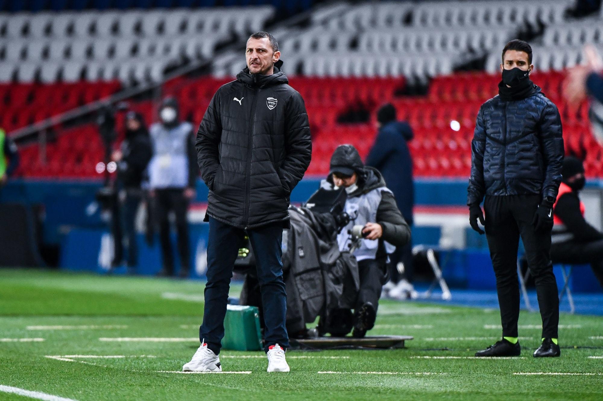 """PSG/Nîmes - Arpinon regrette l'ouverture du score """"Noël est pourtant terminé !"""""""