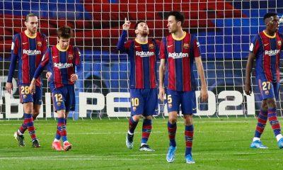 LDC - Le Barça s'impose largement contre Alavés avant d'affronter le PSG