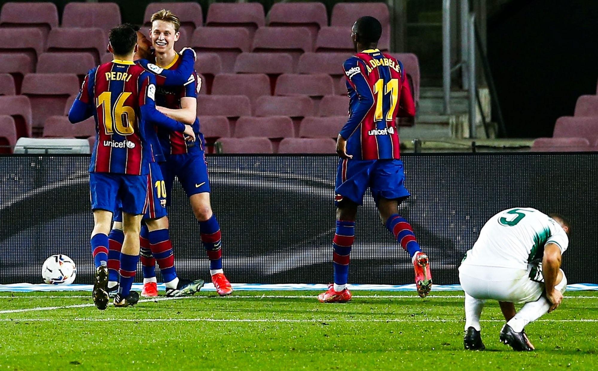 LDC - Le Barça se relance face à Elche avec un doublé de Messi