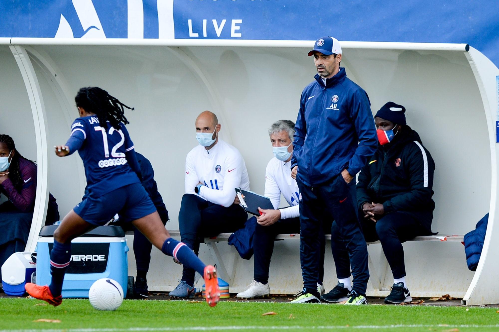 """Le Havre/PSG - Echouafni """"c'est un vrai soulagement de repartir avec cette victoire"""""""