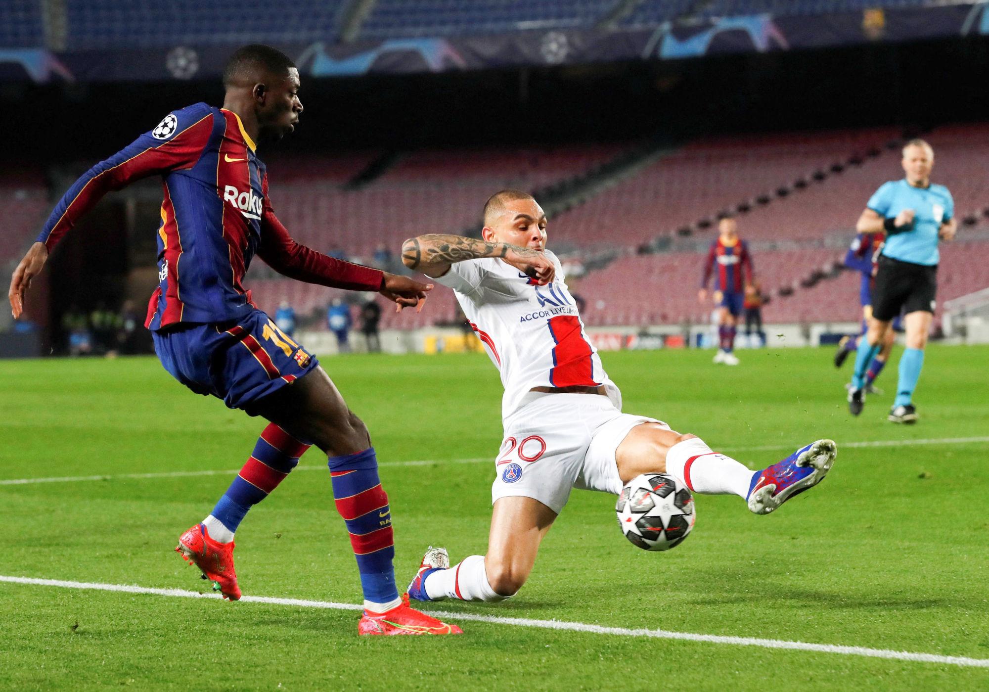 Makonda évoque les profils de Kurzawa et Diallo, avec le choix pour PSG/Barcelone