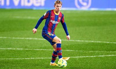 """PSG/Barcelone - De Jong veut """"donner une bonne image du Barça"""" et """"croire"""" à la qualification"""