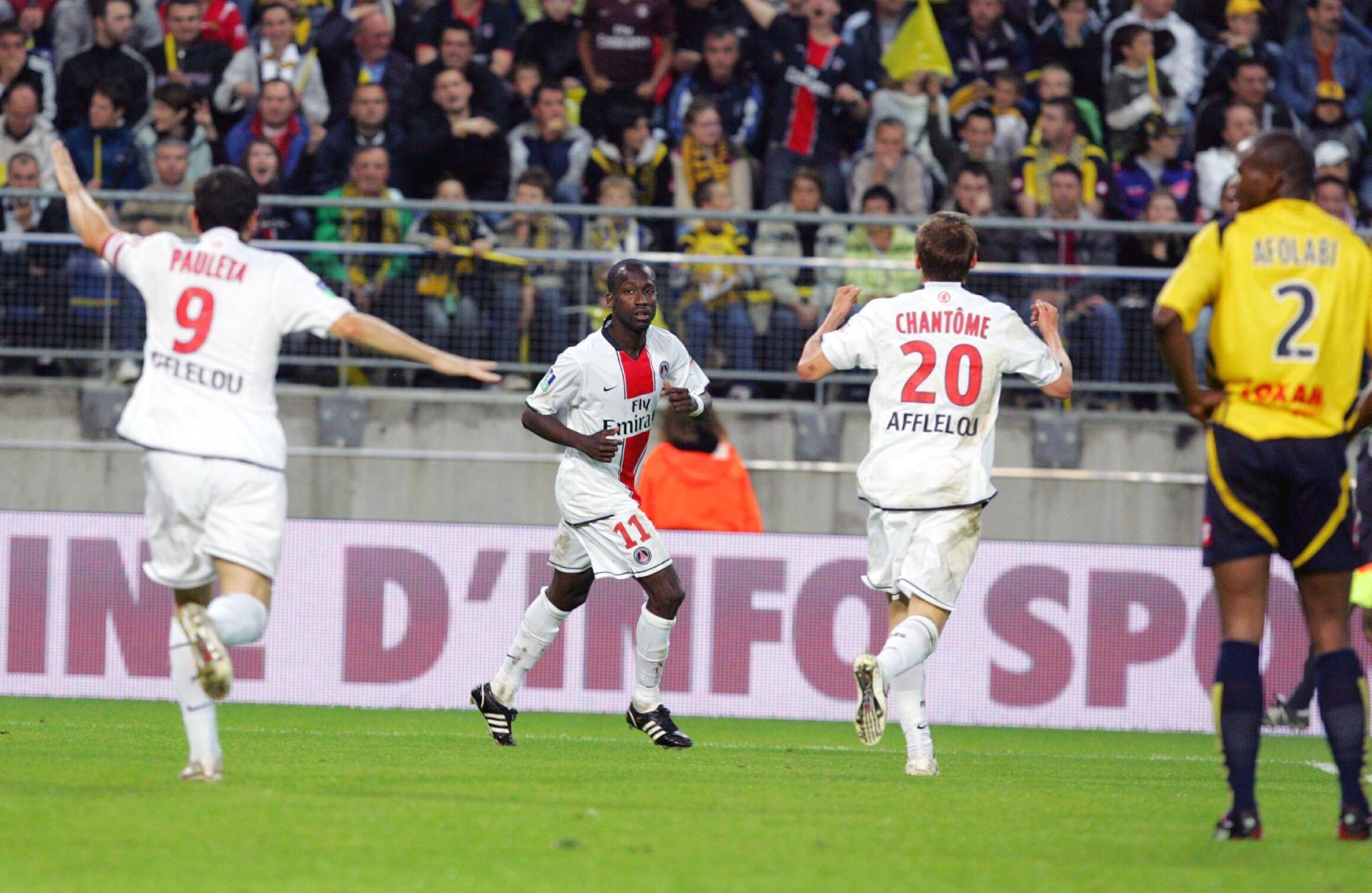 Pauleta revient sur son amour pour le PSG et le sauvetage à Sochaux