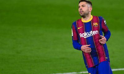 """Barcelone/PSG - Jordi Alba ne veut pas trop penser aux absents et souligne """"Ce sera un match difficile"""""""