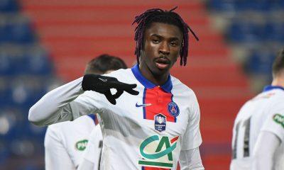 """Mercato - Kean aimerait rester au PSG, qui """"ne fera pas de folies"""" selon Le Parisien"""