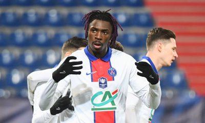 Caen/PSG - Kean évoque la victoire et se tourne déjà vers Nice