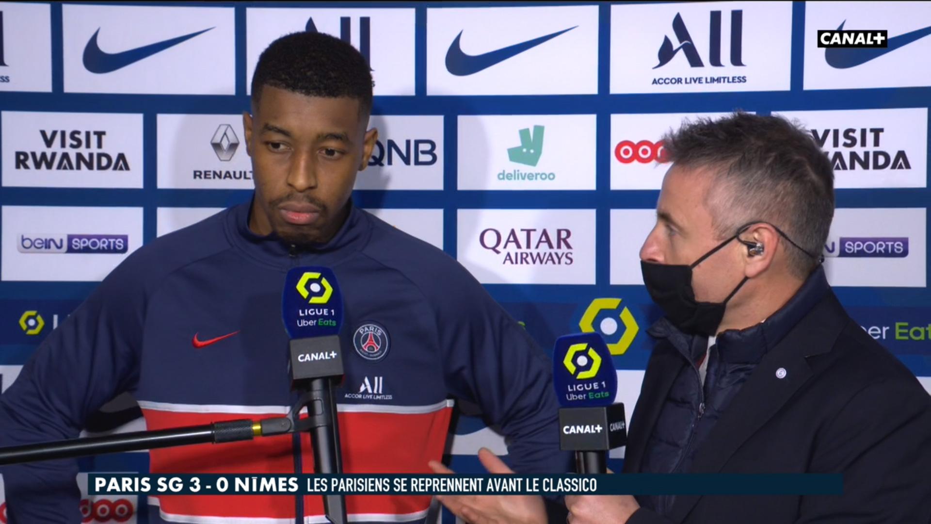 PSG/Nîmes - Kimpembe espère voir Mbappé et Neymar rester et se dit satisfait des 3 points