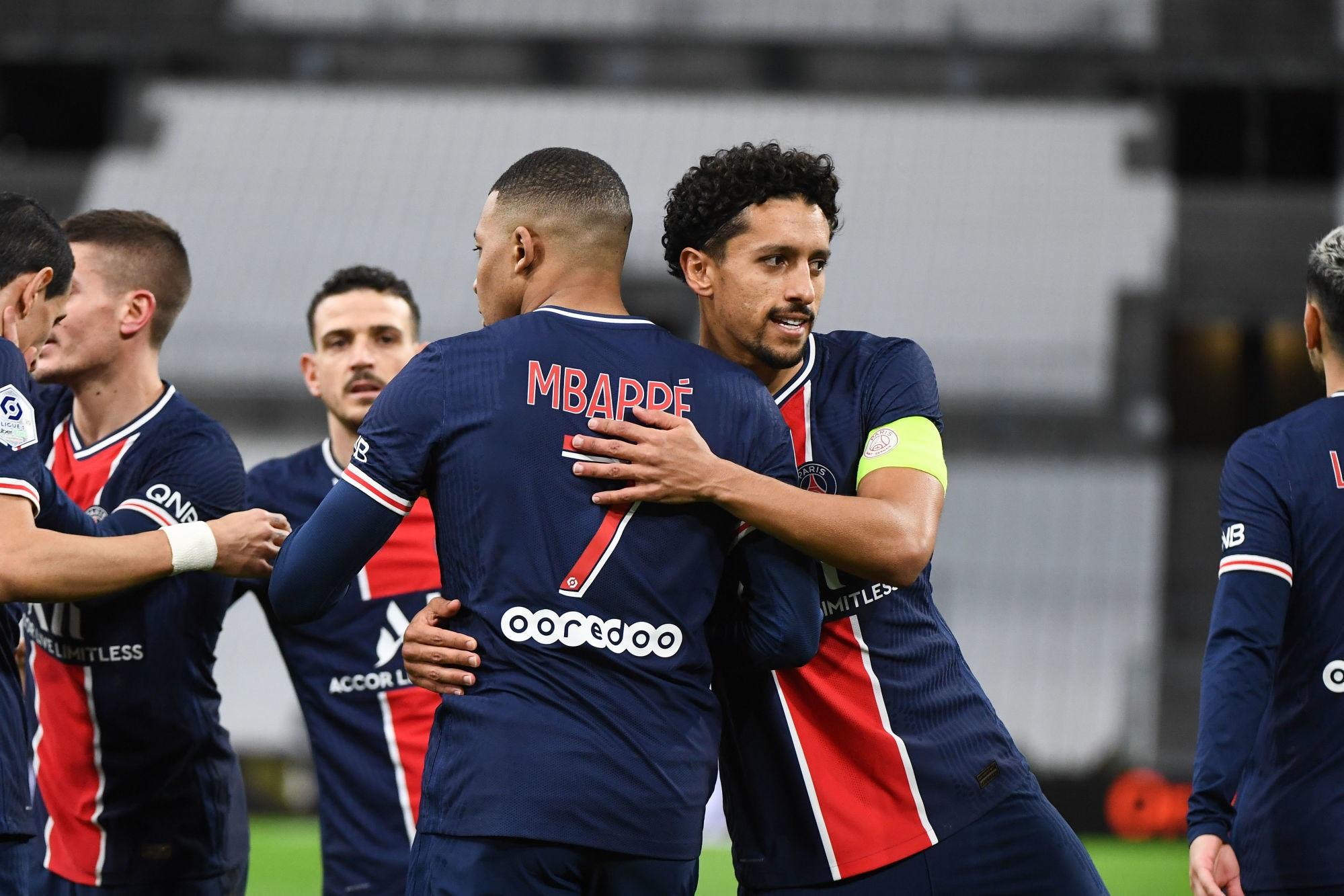 Mbappé et Marquinhos à égalité pour le plus beau but du PSG en avril