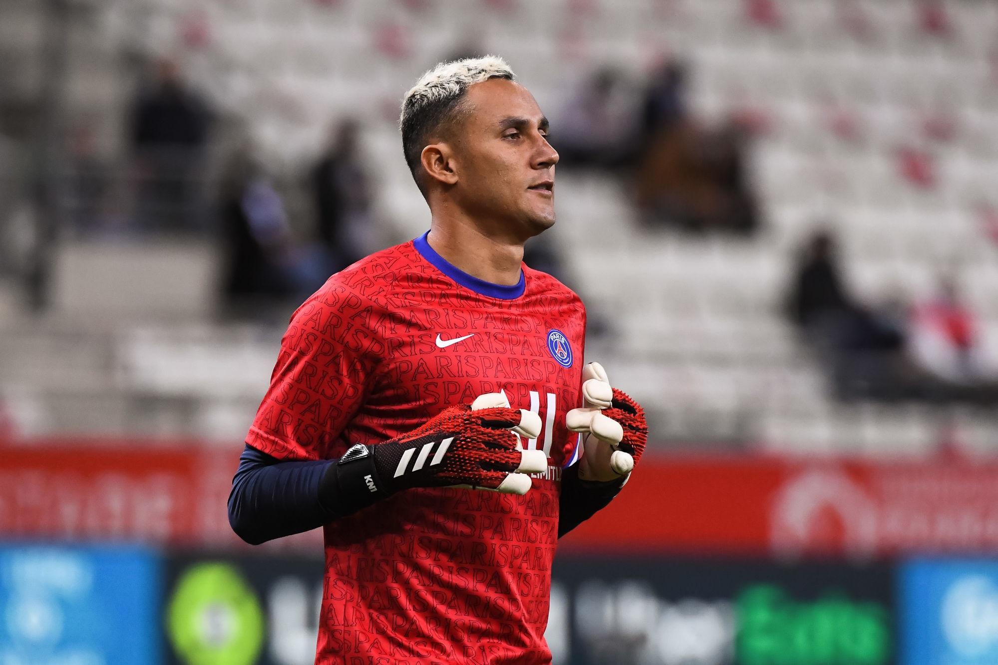 Navas élu de peu joueur du mois de janvier par les supporters du PSG