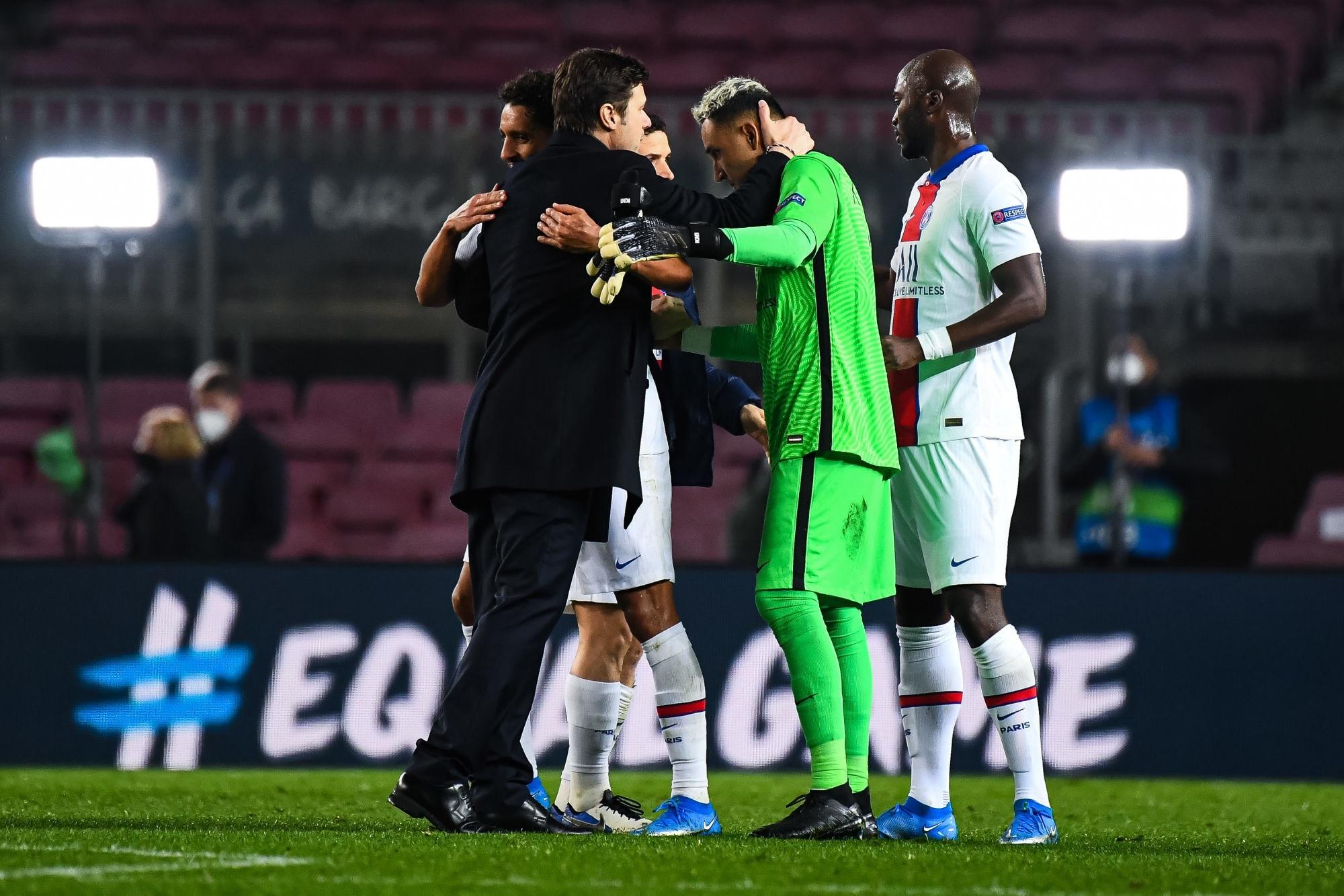 Barcelone/PSG - Pochettino appelle au calme, fait l'éloge de Mbappé et parle des émotions